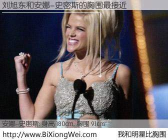 #我和明星比胸围# 身高 180cm,胸围 93cm,地球人都知道,刘旭东与美国名模安娜-史密斯的胸围最接近!有图有真相: