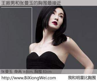 #我和明星比胸围# 身高 168cm,胸围 83cm,哇,我的神啊!王振男与香港影星张曼玉的胸围最接近!有图有真相:
