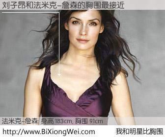 #我和明星比胸围# 身高 183cm,胸围 92cm,毫无疑问,刘子昂与美国名模法米克-詹森的胸围最接近!有图有真相: